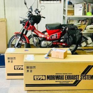 モリワキ Z400FX用 復刻手曲げ ショート管 第2ロット完売しました!