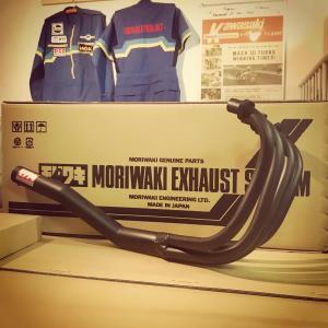 モリワキ Z400FX 復刻手曲げショート管 今回分も残り少なくなってきました。