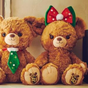 Disney 対象ユニベアシティご購入で クリスマス限定デザインリボン又はネクタイプレゼント