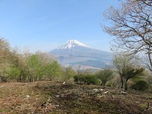 須山登山口から黒岳、越前岳、呼子岳周遊