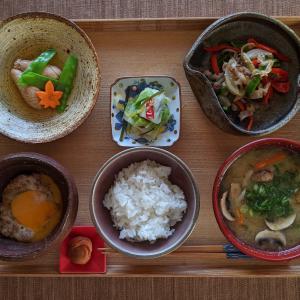 日本の朝ご飯ダァ~
