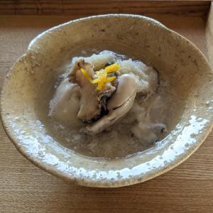 酢牡蠣と鯖の味噌煮