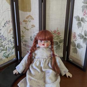 オルゴール人形の服つくり