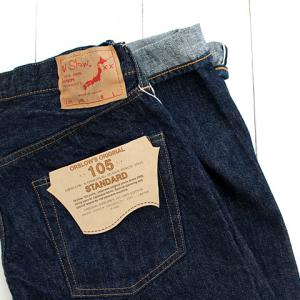 オアスロウ(orslow)STANDARD DENIM 5POCKET 105 SELVEDGE
