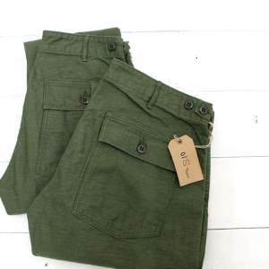 orslow (オアスロウ) SLIM FIT FATIGUE PANTS