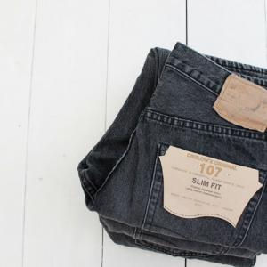 orslow(オアスロウ)IVY FIT DENIM 107 BLK DENIM STONE