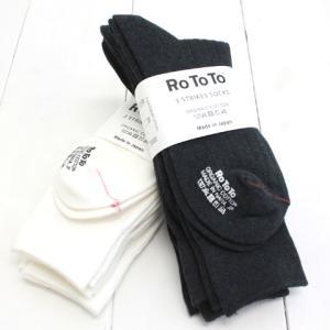 RoToTo(ロトト)3 STRIKES SOCKS (R1228)