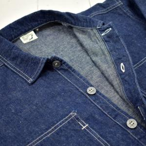orslow PW PULLOVER SHIRT JACKET ONE WASH