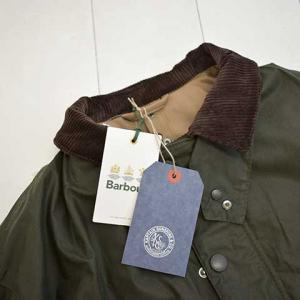 KaptainSunshine×Barbour StandCollarTravellerCoat