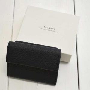 SLOW(スロウ) crispanil -trifold mini wallet-