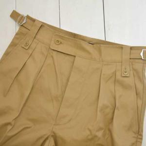 A VONTADE (アボンタージ) Gurkha Trousers Modify