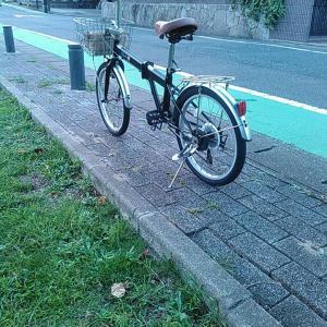 自転車で怪我をした話