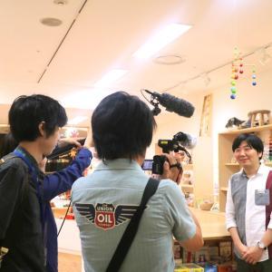 NHK「ロクいち!福岡」「おはよう九州沖縄」に取材映像が放送されました!