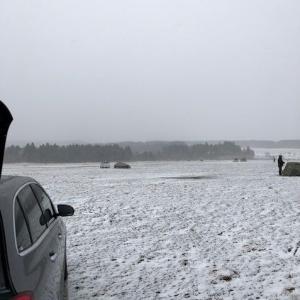 冬キャンプ2回目。まさかの雪中キャンプに