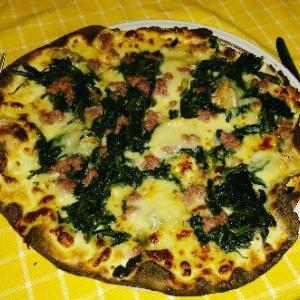 エジプトから帰ってきて、早速ディナーにPGが恋しがってたピッツァ(笑)Pizza Cowboy