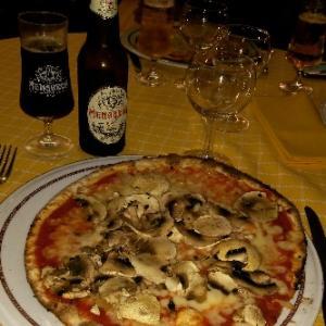 またまたピッツア❤きのこチーズピッツア Pizza Cowboy