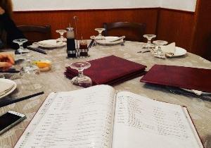 人数増えた(^^)みんなでワイワイ中華料理楽しみま〜す。中華食べるの久々なのだ〜ローマ