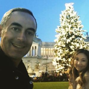 ローマ市内デート♥クリスマスとイースターが重要なイタリア(^o^)再来週は毎日親戚とパーティーに