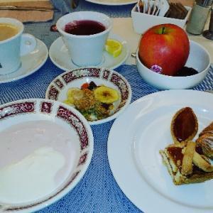 ホテル朝食~(#^.^#)ここ種類多くてお気に入り♥Hotel Terme Millepini