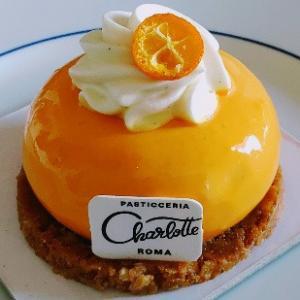バニラとハチミツのチーズケーキ☆中身はオレンジソース★CHARLOTTE PASTICCERIA