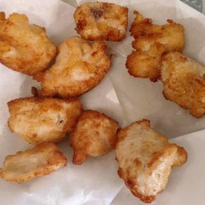 なんとなく食べたくなった日本のおかず、鶏の唐揚げにした~やっぱり大好きだ♥とんかつも食べたくな