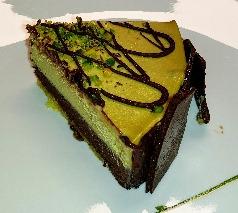 ピスタチオチョコのアイスケーキ☆ジェラテリアのアイスケーキが食べたくて♥SottoZero