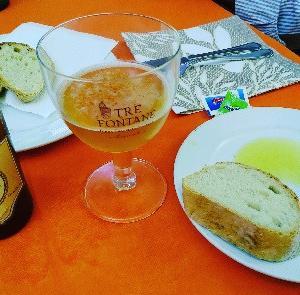楽しい美味しいディナー☆ボリューム満点の牛肉のカルパッチョもローマ地ビール美味♥O' Masto