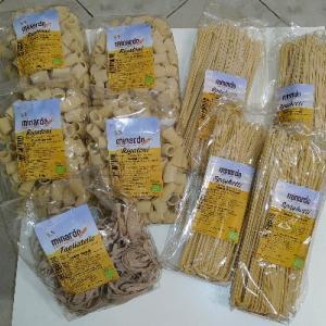 お取寄せのシチリアのBIOパスタたくさん届いた♥大好きな全粒粉パスタも★Minardo