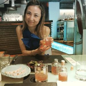 ミシュランディナーの料理たち(#^.^#)アンティパストからメイン♥Glass Hostaria