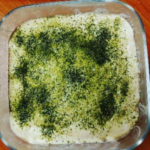 抹茶ティラミス☆市販のフィンガービスケットや生地は、なるべく使いたくないからスポンジケーキも作り