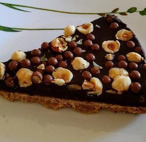 SAIDのヘーゼルナッツチョコタルト☆このタルトケーキお気に入りでまた食べたくなってGET♥土