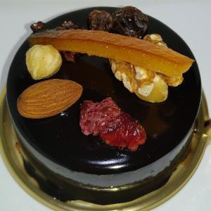 ベルアメールのショコラオランジュ♥クレームショコラの中にクレームオランジュとオレンジコンフィのチ