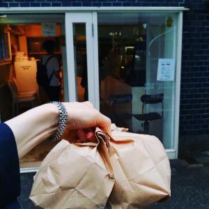 早朝マルイチベーグルへ♥東京一のベーグル人気店。手法はニューヨークのEss-a-Bagelを基盤