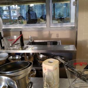 ガンベロロッソの魚料理クッキングレッスン前菜・パスタ・メイン美味☆Gambero Rosso