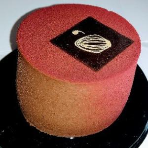 チョコムースケーキ(^^)まぁまぁ美味しかった❤Pasticceria D'Antoni