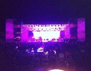 夜中のお城でのコンサート鑑賞❤リラックスできた★Castello di Santa Severa