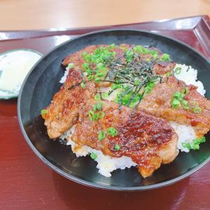 宇部市『ウベ食堂』:ステーキ丼 1,100円!