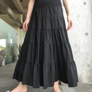 大人ティアードスカート