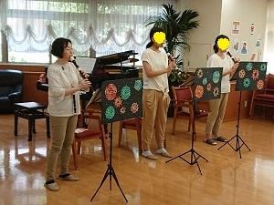 リコーダーdeボランティア演奏♪