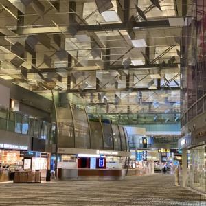 最後のシンガポールチャンギ空港・さびしくてまた涙
