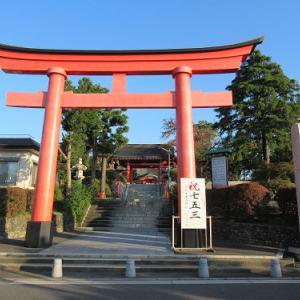 お久し振りの東伏見稲荷神社
