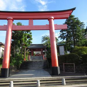 朝散歩8/21~東伏見稲荷神社