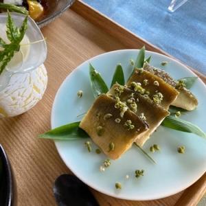 鮎料理と山椒仕事  7月の料理教室から
