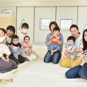 春日井の児童館でベビーマッサージ講座を担当させていただきました♡双子の赤ちゃんも参加したよ