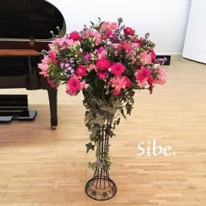 発表会舞台花 ~2種類の華やかステージフラワー