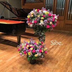 発表会舞台花 ~2段スタンド風ブーケスタンドフラワー