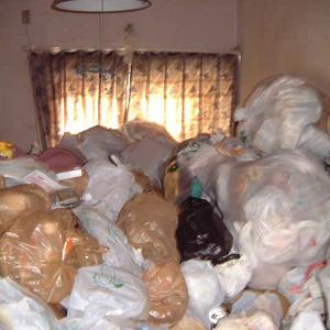 大量のゴミを片付けその3