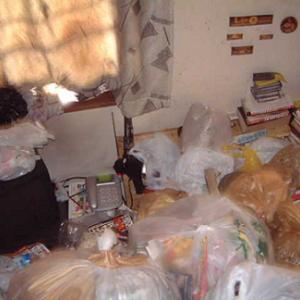 大量のゴミを片付けその4