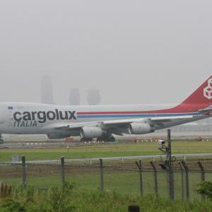 カーゴルックス・イタリア航空 ボーイング747-400F