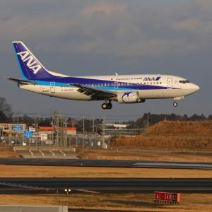 全日本空輸 ボーイング737-500 スーパードルフィン引退